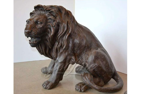 Hot sell life size bronze lion sculptures