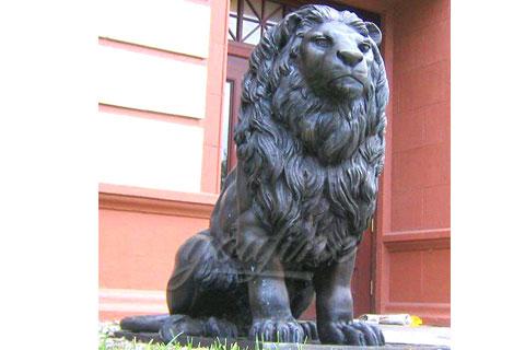 Manufactured metal crafts cast antique bronze lion sculptures for sale