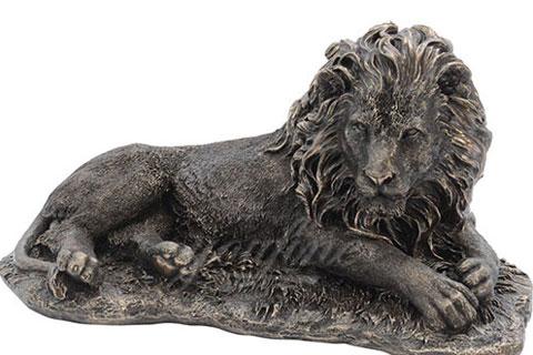 Outdoor Decorative Life Size Bronze Lion Sculptures